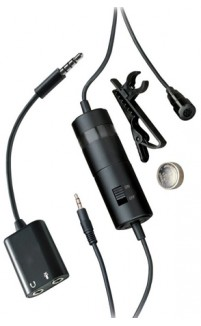 iShot Pro® Professional Omni Lavalier Microphone Kit for Cameras, iPads, iPhones and Smartphones