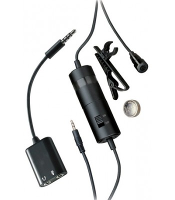 iShot Pro Professional Omni Lavalier Microphone Kit for Cameras, iPads, iPhones and Smartphones