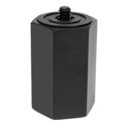 Painters Pole Adapter with 1/4-20 Thread - For GoPro, DSLR, P&S, Action Camera, Camcorder, Smartphone, iPad, Tablet and More