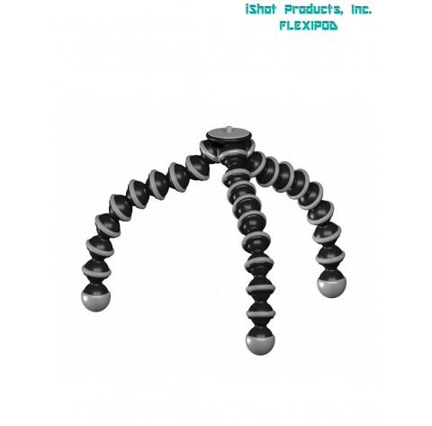 Pocket Projector Flexible GorillaPod Tripod Stand Holder & 360° Locking Swivel Ball Head Bundle Kit