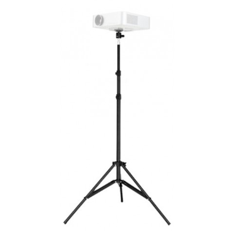 "iShot Pro Pocket Projector Tripod Floor Stand Holder & 360° Swivel Ball Head Bundle Kit - Adjustable Height (29.5"" - 70.1"")"