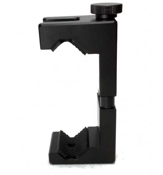 iShot Pro SecureGRIP Metal iPhone Universal Smartphone Tripod Monopod Mount Adapter with Bonus Cold Shoe Mount - Fits All Cell Phones from 2.5 to 3.6 inch