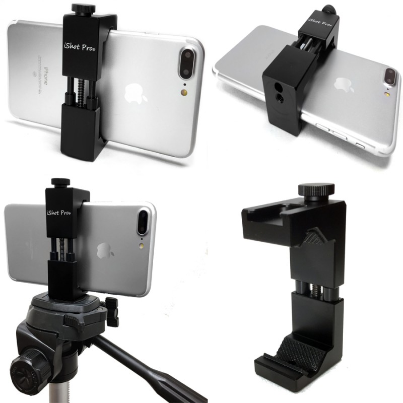 Securegrip Metal Iphone Universal Smartphone Tripod Mic