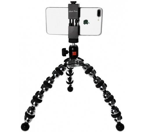 iphone x XR XS 8 7 6 Plus max tripod mount, iphone tripod stand, universal iphone smartphone tripod mount adapter holder bracket, smartphone holder video vlogging rig tripod mount adapter, tripod mount for iphone samsung pixel, metal iphone tripod mount a