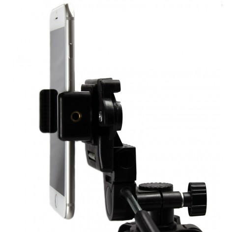 iphone tripod adapter remora s1 iphone universal cell phone tripod monopod 7036