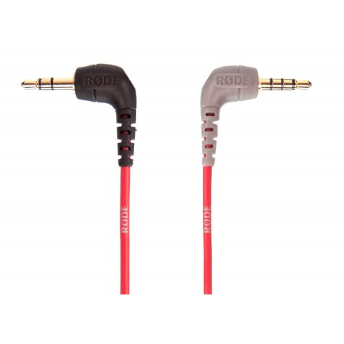 Rode 3.5mm TRS to TRRS Mic Patch Cable M-M Post for iPad, iPhone, Tablet, Smartphone