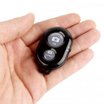 iShot Pro® Bluetooth Wireless Remote Control Camera Shutter Release Self Timer for iOS or Android Phones and Tablets - Basic Edition