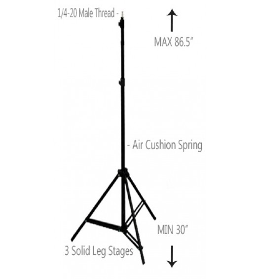 iShot Pro Portable Fold-able Tall Tripod Stand w/ Carry Bag and Swivel Ball Head