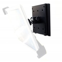 VESA Adapter Plate 100mm x 75 mm - Wall Mount or VESA Mounting Kit with 360° Swivel Ball Head