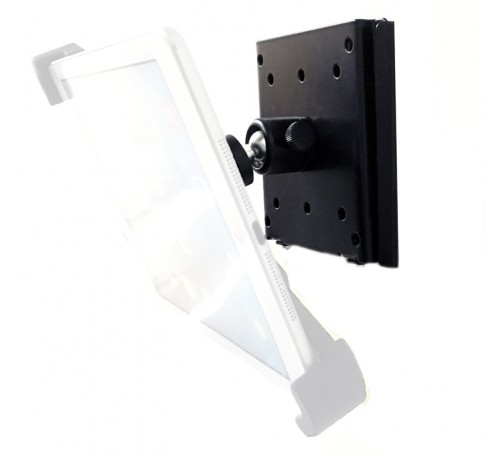 VESA plate, VESA 100mm plate, VESA adapter, VESA mount, ipad VESA mount, VESA mount for ipad, ipad VESA, VESA ipad, 100mm VESA mount plate adapter,  vesa adapter plate 100mm wall mount vesa mounting kit with 360° swivel ball head accessories vesa adapter
