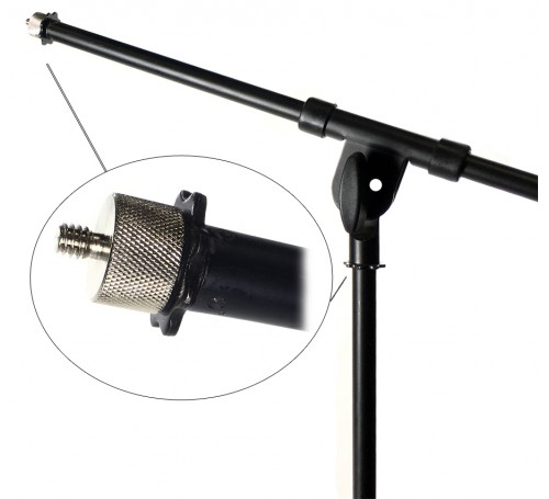 mic music stand 5/8 to 1/4 inch screw reducer adapter converter bushing connector, 5/8 to 1/4 bushing, 5/8 inch to 1/4 inch, mic stand tripod adapter reducer, mic stand mount, mic stand adapter, mic stand adaptor, microphone music stand adapter reducer bu