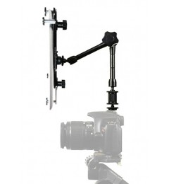 "G7 Pro iPad Pro Universal Tablet SLR Camera Teleprompter Hot Shoe Flash Mount Connection + 11"" Extension Arm - Fits 6-13"" Tablets"