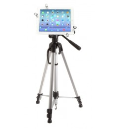 G7 Pro iPad Pro 9.7 Tripod Mount + 60 inch Adjustable Pan Head HD Tripod + Carry Bag