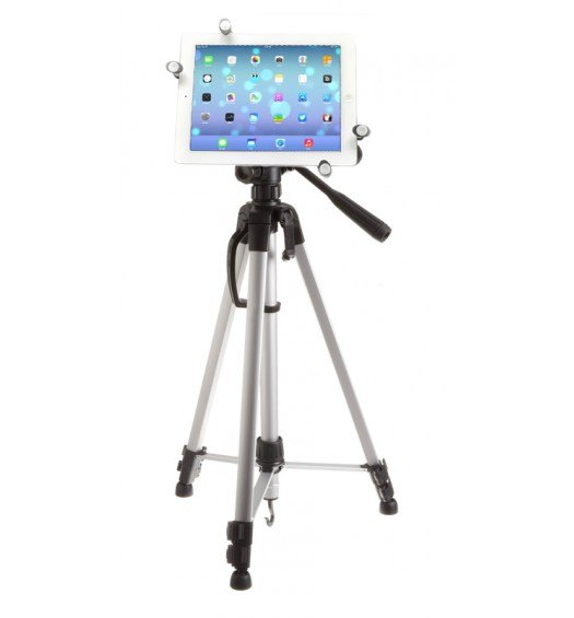G7 Pro iPad 5 Tripod Mount + 60 inch Adjustable Pan Head HD Tripod + Carry Bag