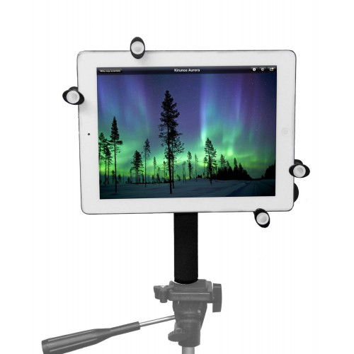 G7 Pro iPad Pro 9.7 / iPad 5 Tripod Mount + 8 inch Tripod Adapter with 360° Swivel Ball Head