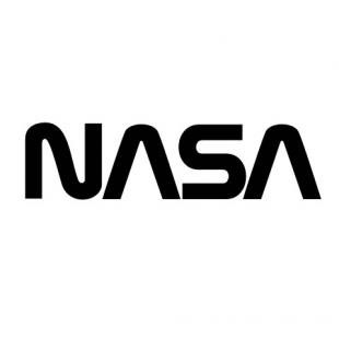 nasa emblem black and white - photo #11